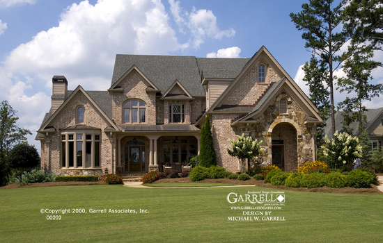 Peachtree City House Plans House Plans by Garrell Associates Inc