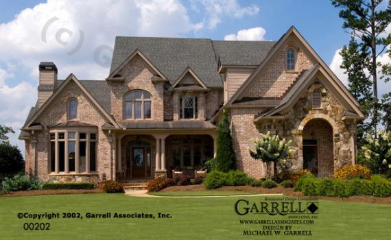 Mcdonough house plans house plans by garrell associates for Home planners inc house plans